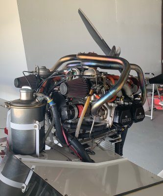 Titan Exhaust System Rotax 912