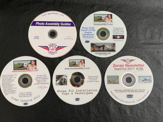 Builder DVDs (Rotax & Zenith)